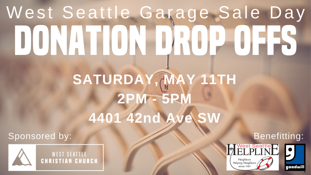 West Seattle Garage Sale Day Special Event - West Seattle